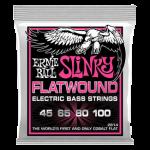 Super SLINKY FLATWOUND BASS 45-100